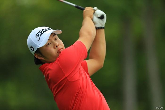 今野康晴のおい、大喜。周囲からは「すごく似ている」か「全然似てない」と、評価は分かれるそう 2017年 日本オープンゴルフ選手権競技 初日 今野大喜