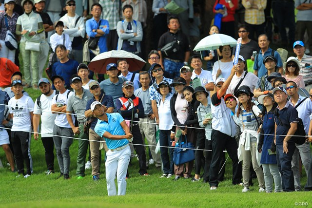 2017年 日本オープンゴルフ選手権競技 初日 小平智 グリーンを外しても簡単にボギーを叩かないのは強みですね。