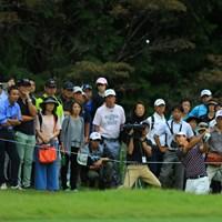 16番のロブショットはギャラリーを魅了しましたね。 2017年 日本オープンゴルフ選手権競技 初日 石川遼