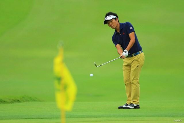 2017年 日本オープンゴルフ選手権競技 初日 浅地洋佑 ノーボギーのナイスラウンドでしたね。