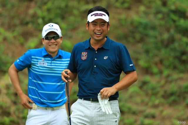 2017年 日本オープンゴルフ選手権競技 初日 池田勇太 今日はリラックスした表情で、ナイススマイルでしたね。