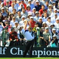 3位タイスタートです。日本ツアー初優勝はメジャータイトルなのでしょうか。 2017年 日本オープンゴルフ選手権競技 初日 任成宰