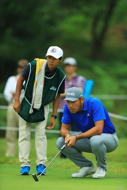 2017年 日本オープンゴルフ選手権競技 初日 チャン・キム 日本オープンのセッティングでも、力技で捻じ伏せてしまいそう。