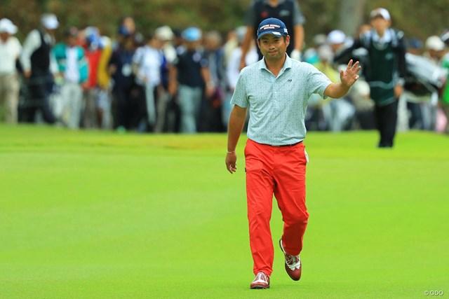 2017年 日本オープンゴルフ選手権競技 2日目 池田勇太 池田勇太が3打差の首位に浮上した