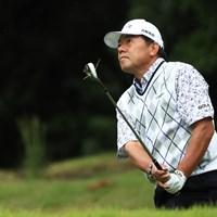 62歳の室田淳。2日目に挽回して決勝ラウンドに進んだ 2017年 日本オープンゴルフ選手権競技 2日目 室田淳