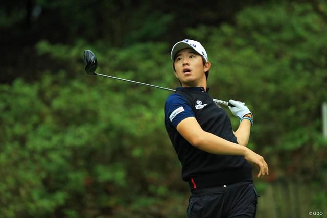 2017年 日本オープンゴルフ選手権競技 2日目 ソン・ヨンハン ミスショットでさえも何だか可愛い。