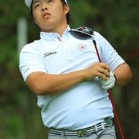 初日に話題をさらうも、残念ながら予選落ちに。 2017年 日本オープンゴルフ選手権競技 2日目 今野大喜