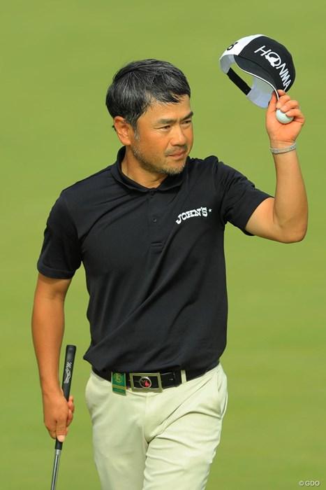 バックナインはナイスラウンドでしたね。 2017年 日本オープンゴルフ選手権競技 3日目 上平栄道