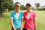 2007年 日本女子アマチュアゴルフ選手権 1日目 池内絵梨藻 池内真梨藻