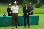 2017年 日本オープンゴルフ選手権競技 最終日 池田勇太 金谷拓実