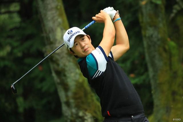 ボギー先行の苦しいゴルフも、耐えまくりで7位タイフィニッシュです。