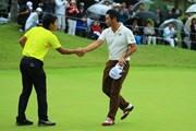 2017年 日本オープンゴルフ選手権競技 最終日 金谷拓実&池田勇太