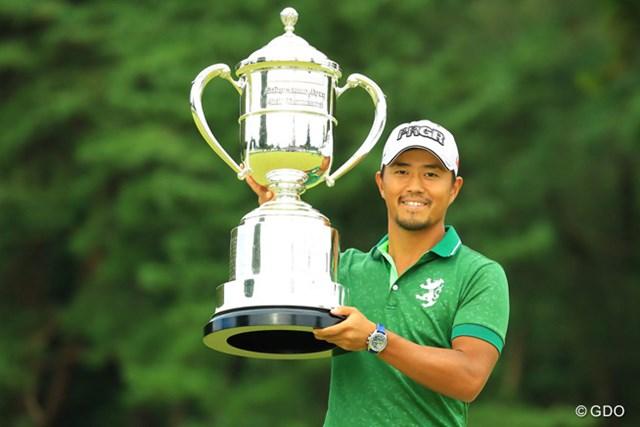 2017年 ブリヂストンオープンゴルフトーナメント 事前 小平智 昨年の大会覇者・小平智は賞金ランクトップで大会連覇に挑む