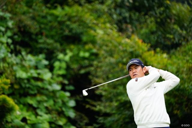 2017年 ブリヂストンオープンゴルフトーナメント 2日目 武藤俊憲 5人が並ぶ首位で発進した武藤俊憲