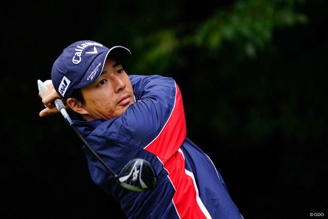 2017年 ブリヂストンオープンゴルフトーナメント 2日目 石川遼 首位と5打差でスタート。石川遼は3Wを多用してスイング作りに懸命になっている