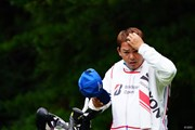 2017年 ブリヂストンオープンゴルフトーナメント 2日目 チャプチャイ・ニラトのキャディ
