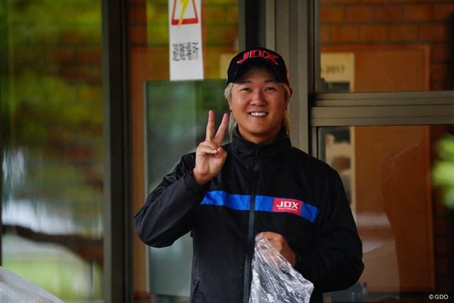 2017年 ブリヂストンオープンゴルフトーナメント 2日目 ホ・インヘ 見た目は派手でもいい奴なのです。