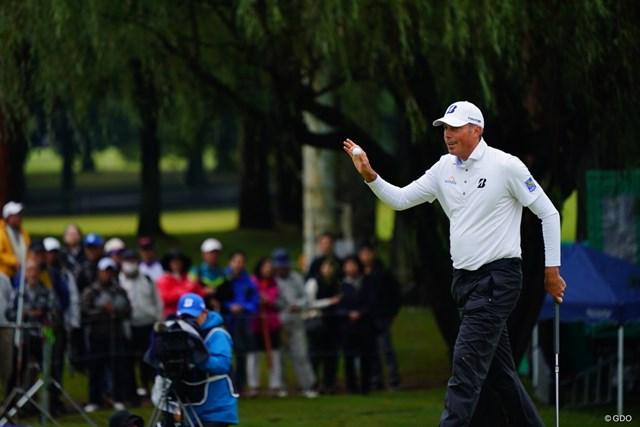 2017年 ブリヂストンオープンゴルフトーナメント 2日目 マット・クーチャー 「クー!」とは日本のギャラリーはあまり吠えない。