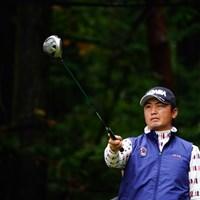 はい!ピンポン!「つぎ降りまーす!」 2017年 ブリヂストンオープンゴルフトーナメント 2日目 小林伸太郎