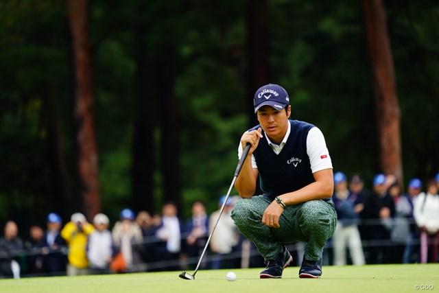 2017年 ブリヂストンオープンゴルフトーナメント 2日目 石川遼 「おい!おれのボールさん!応えておくれ!」