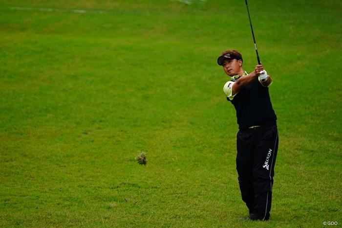 ボールじゃなくマリモを打つヨースケ。 2017年 ブリヂストンオープンゴルフトーナメント 2日目 塚田陽亮