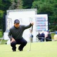 ベテランの丸山大輔が首位発進。アウトコースでの我慢が光った 2017年 ブリヂストンオープンゴルフトーナメント 2日目 丸山大輔