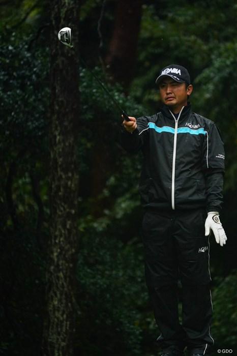 「えええーっと、上?」「はい0」 2017年 ブリヂストンオープンゴルフトーナメント 3日目 小林伸太郎