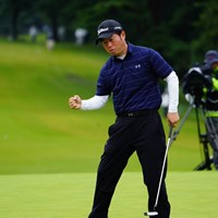 なぜかさほど盛り上がらなかった松村プロのイーグル! 2017年 ブリヂストンオープンゴルフトーナメント 3日目 松村道央