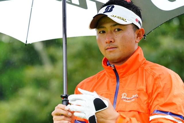 2017年 ブリヂストンオープンゴルフトーナメント 3日目 片岡大育 うれしい、うれしい出場権。片岡大育は次週、中国でのWGCに参戦する