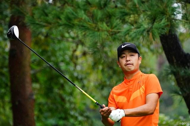 2017年 ブリヂストンオープンゴルフトーナメント 最終日 時松隆光 台風の影響で36ホール決戦。時松隆光が今季初優勝を遂げた
