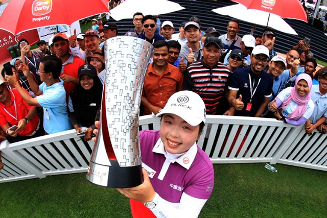 大会連覇を目指すのはフォン・シャンシャン(Stanley Chou/Getty Images)