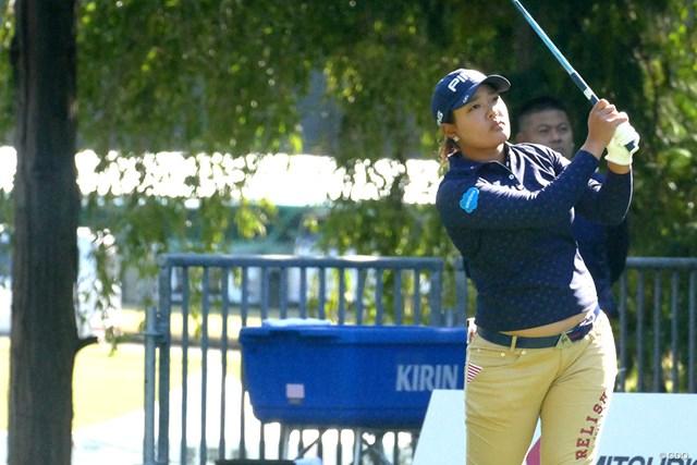 2017年 樋口久子 三菱電機レディスゴルフトーナメント 事前 鈴木愛 賞金ランク2位の鈴木愛にとって勝負の一戦。逆転で初の女王に向かう