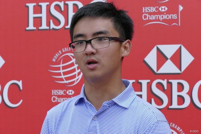 まだあどけなさの残る20歳。中国人初のPGAツアーメンバーとなった竇沢成