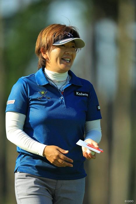 今日は笑いが止まりませんな。 2017年 樋口久子 三菱電機レディスゴルフトーナメント 初日 福嶋浩子