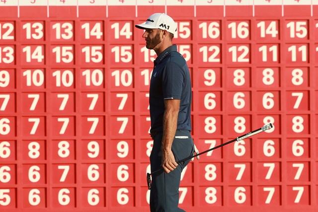 世界ランク1位のダスティン・ジョンソンが首位(Scott Halleran/Getty Images)
