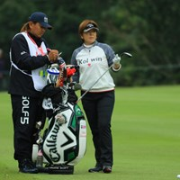 日替わりゴルフになってしまったか。 2017年 樋口久子 三菱電機レディスゴルフトーナメント 2日目 福嶋浩子