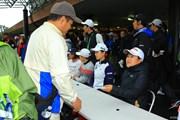 2017年 樋口久子 三菱電機レディスゴルフトーナメント 最終日 畑岡奈紗