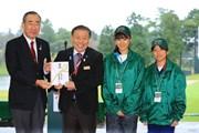 2017年 樋口久子 三菱電機レディスゴルフトーナメント 最終日 中学生