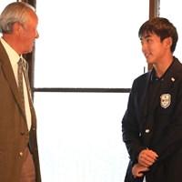 未来のプロゴルファーか 2017年 マイナビABCチャンピオンシップ 最終日 鈴木晃祐
