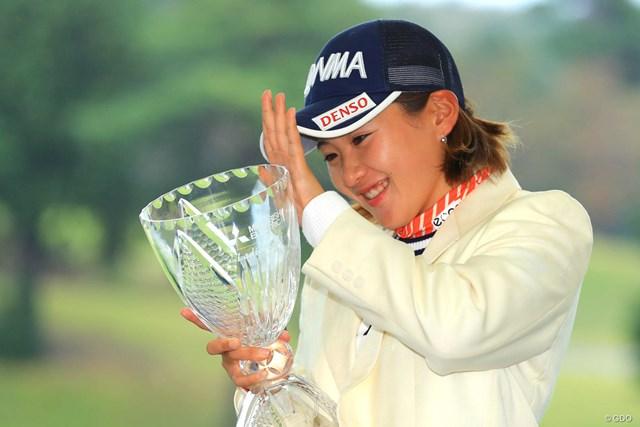 初優勝で32ランクアップした永井花奈