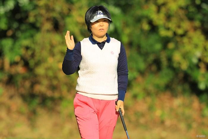 21年連続出場を果たした不動裕理 2017年 伊藤園レディスゴルフトーナメント 初日 不動裕理