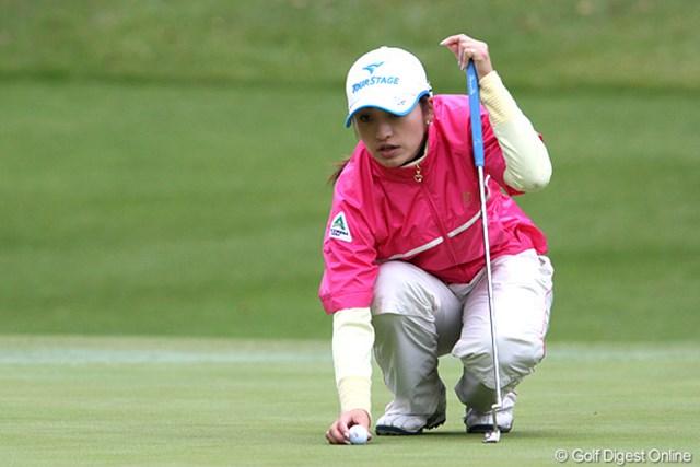 2009年 伊藤園レディスゴルフトーナメント 初日 宅島美香 この日は2オーバーの41位発進。まずは予選突破を目指したい!