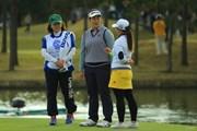 2017年 伊藤園レディスゴルフトーナメント 2日目 川岸史果 大出瑞月
