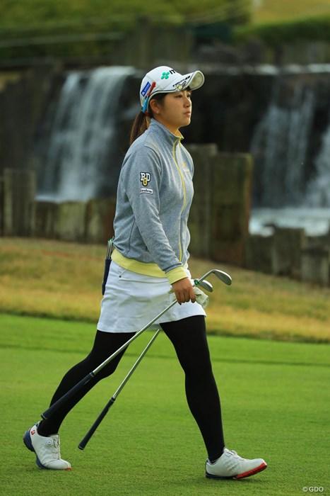 バックナインで耐えきれず、22位タイに後退。 2017年 伊藤園レディスゴルフトーナメント 2日目 田辺ひかり