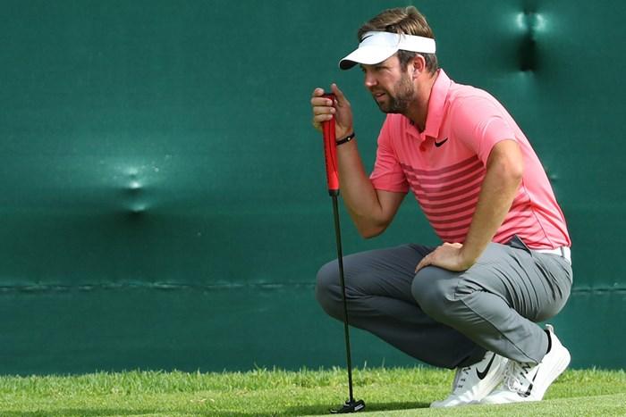 単独首位に浮上したスコット・ジェイミソン(Warren Little/Getty Images) 2017年 ネッドバンクゴルフチャレンジ 3日目 スコット・ジェイミソン