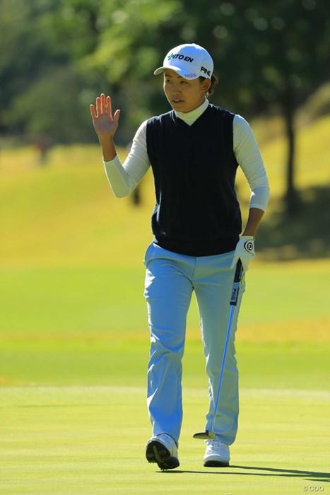 ホステスプロは22位タイフィニッシュでした。 2017年 伊藤園レディスゴルフトーナメント 最終日 前田陽子