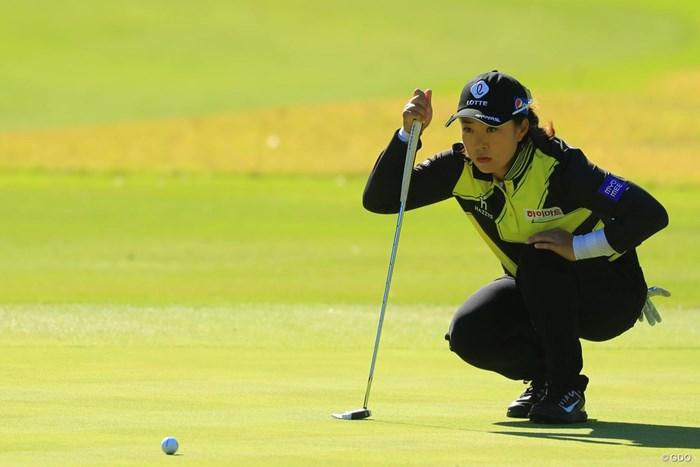 来年は賞金女王を争っていそうな予感。 2017年 伊藤園レディスゴルフトーナメント 最終日 キム・ヘリム