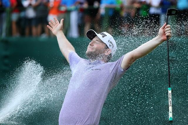 ブランデン・グレースが今季初優勝を遂げた(Richard Heathcote/Getty Images)