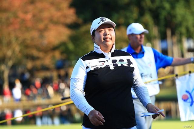 フォン・シャンシャンが中国人選手として初の世界1位に輝いた(※撮影は「TOTOジャパンクラシック」)