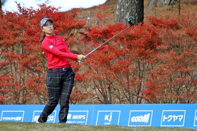 歴代優勝者の上田桃子。逆転女王には2週連続優勝が最低条件だ